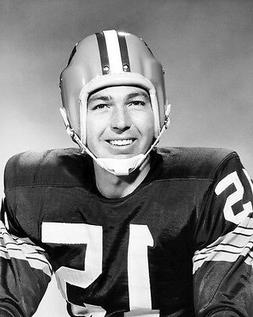 1962 Green Bay Packers BART STARR Glossy 8x10 Photo NFL Foot