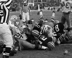 1967 Green Bay Packers BART STARR Glossy 8x10 Photo Ice Bowl