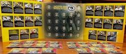 2005 GREEN BAY PACKERS MEDALLION SET of 22 w/ ALBUM RODGERS,