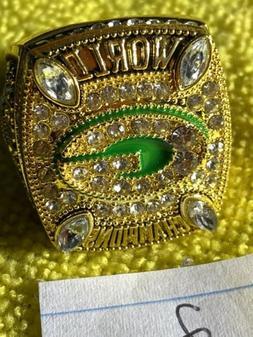 2010 Green Bay Packers Aaron Rogers MVP Championship Replica
