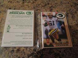 2017 Green Bay Packers Police Team Set Aaron Rodgers Clay Ma