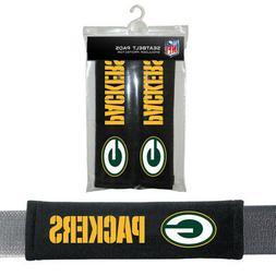 2PC NFL Green Bay Packers Car Truck Bag Seat Belt Pads / Sho