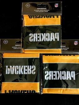 3 Pack NFL Green Bay Packers SuperDana Gaiter Mask Neck Scar