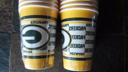 40 Paper Party Cups - Green Bay Packers - 2 Packs of 20
