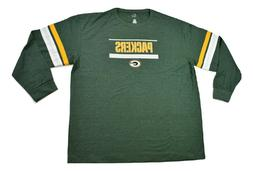 big and tall nfl mens green bay