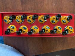Brand New NFL Green Bay Packers Helmet Shower Curtain Hooks,