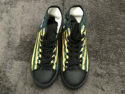 Green Bay Packers Canvas Shoes Sneaker Classic Trainers High