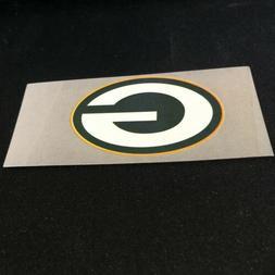 "Green Bay Packers Football Pocket Logo Magnet 4"" X 2"""