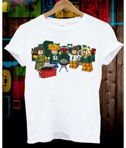 Gameday Lego Tailgate Green Bay Packers Unisex T-Shirt, GIFT