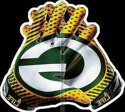GLOSSY DECAL STICKER NFL FOOTBALL GREEN BAY PACKERS FAN 4 FO
