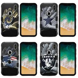 Football Glove Design Rugged Impact Armor Case for iPhone Xr