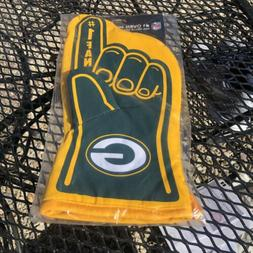 GREEN BAY PACKERS  #1 FAN OVEN MITT GAMEDAY GRILL TAILGATE F