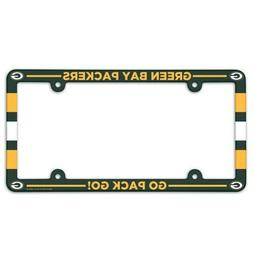 GREEN BAY PACKERS ~  NFL License Plate Frame Cover Holder Pl