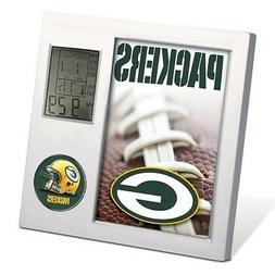 GREEN BAY PACKERS ~  Official NFL Team Desk Alarm Clock ~ Ne