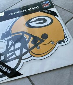 Green Bay Packers 12 inch HELMET Magnet ! FREE SHIPPING ! Br
