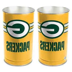 """GREEN BAY PACKERS 15""""X10.5"""" TRASH CAN WASTEBASKET BRAND NEW"""