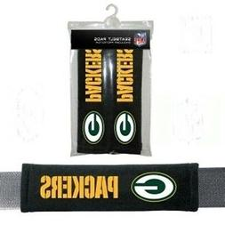 GREEN BAY PACKERS 2 VELOUR SEAT BELT LAPTOP GYM BAGS SHOULDE
