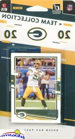 Green Bay Packers 2020 Donruss NFL Limited Team Set-Aaron Ro