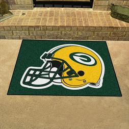 """Green Bay Packers 34"""" x 43"""" All Star Area Rug Floor Mat"""