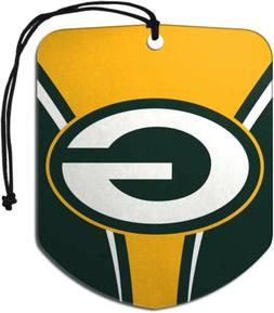 Green Bay Packers Air Freshener Fresh Scent 2 Pack Car Truck