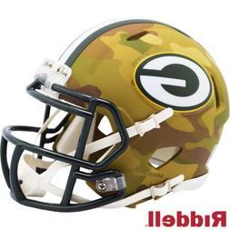 Green Bay Packers Alt Camo Riddell Speed Mini Helmet - New i