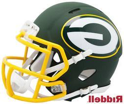 Green Bay Packers AMP Speed Mini Helmet New In Box 10086