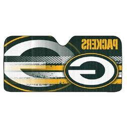Green Bay Packers Auto Sun Shade , NFL Licensed Authentic Wi