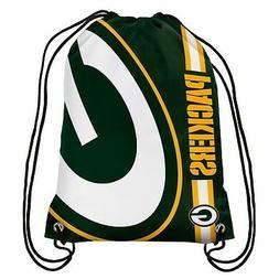 Green Bay Packers Back Pack/Sack Drawstring Gym Bag Sport Ba