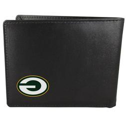 Green Bay Packers Bi-Fold Mens Wallet NFL Football Licensed