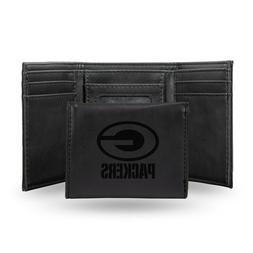 green bay packers black laser engraved synthetic