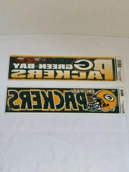 green bay packers bumper stickers
