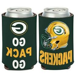 Green Bay Packers Can Cooler/Koozie for 12oz Beverage NFL