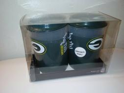 Green Bay Packers Can Cooler *set of 2 Freezable Liquid *New