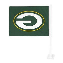 Green Bay Packers Car Flag 12 x 15 Double Sided All Pro Desi