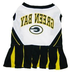 Green Bay Packers Cheerleader Pet Outfit Size Medium
