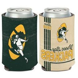GREEN BAY PACKERS CLASSIC LOGO NEOPRENE CAN BOTTLE COOZIE CO