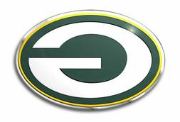 Green Bay Packers Color Emblem Sticker Decal Aluminum Metal