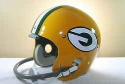 GREEN BAY PACKERS Custom Game Style TK5 Vintage Football Hel