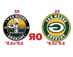 Green Bay Packers decal magnet + sticker Car Fridge Super ma