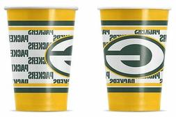 Green Bay Packers Disposable Paper Cups - 20 Pack  NFL Party