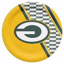Green Bay Packers Disposable Paper Plates - 20 Pack  NFL Par