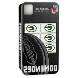 Green Bay Packers NFL Double-Six Collectble Dominoes Set - N