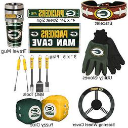 Green Bay Packers Fan Apparel  Football NFL GB Logo