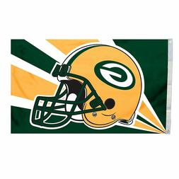 GREEN BAY PACKERS FLAG 3'X5' NFL BANNER: FAST FREE SHIPPING