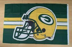 Green Bay Packers Flag 3x5 ft Banner NFL