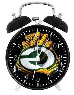 Green Bay Packers Football Alarm Desk Clock Home Decor F123