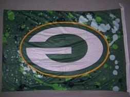 GREEN BAY PACKERS G tie dye 2x3ft flag superior quality GENU
