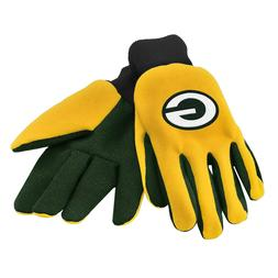 green bay packers gloves sports logo utility
