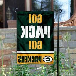 Green Bay Packers Go Pack Go Garden Yard Banner Flag