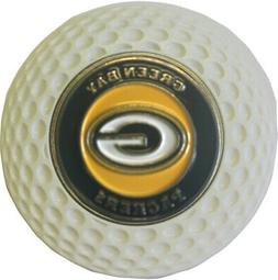 GREEN BAY PACKERS GOLF BALL MARKER IN ACRYLIC POKER CHIP GIF